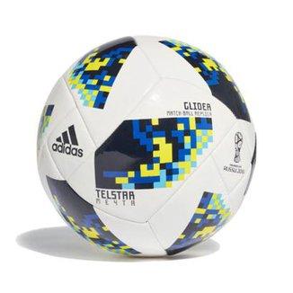 9239c89448 Bola de Futebol Campo Adidas Telstar 18 Glider Réplica Mata-Mata Copa do  Mundo FIFA