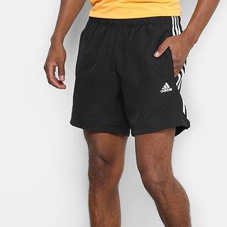 28f527b726 Bermuda Adidas Essentials 3 Stripes Chelsea Masculina