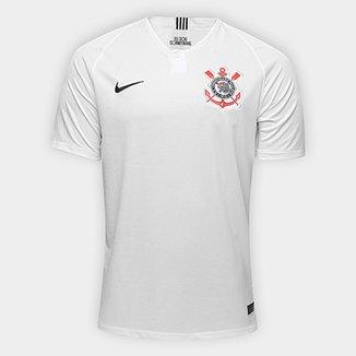 1fd7670814968 Camisa Corinthians I 18/19 s/n° Torcedor Nike Masculina