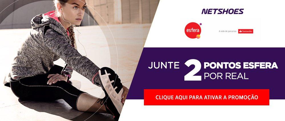 93efe7906 Ao realizar as compras no hotsite www.netshoes.com.br esfera