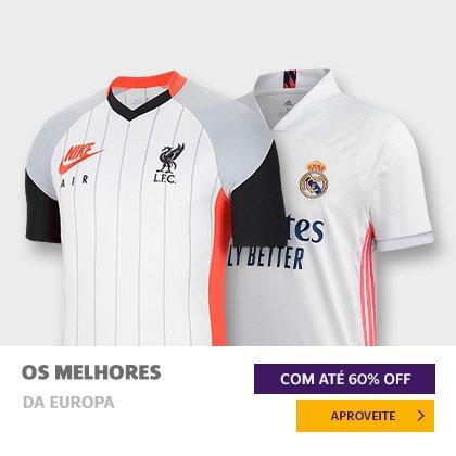 Camisas clubes europeus