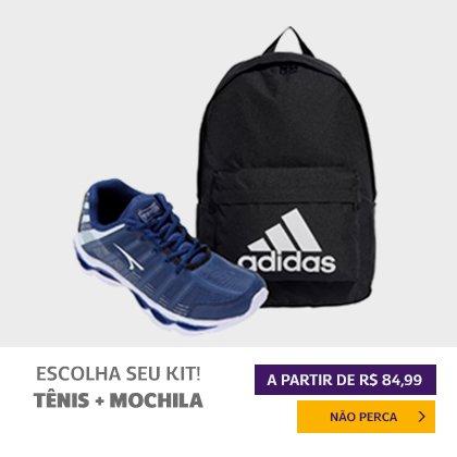 Tênis + Mochila (Kit)