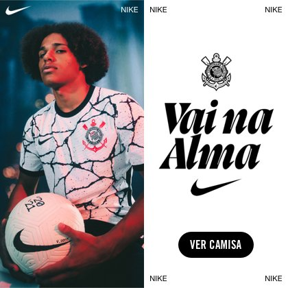 Lançamento Corinthians