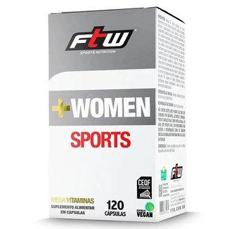 + Women Sports 120 Cápsulas  FTW
