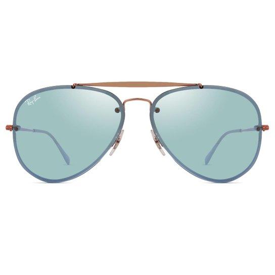 4ffb9ee4da085 Óculos de Sol Ray Ban Blaze Aviador RB3584N 9053 1U-61 - Compre ...