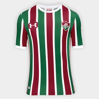 Camisa Fluminense I 17 18 s nº Torcedor Under Armour Masculina 77949a57ce19a
