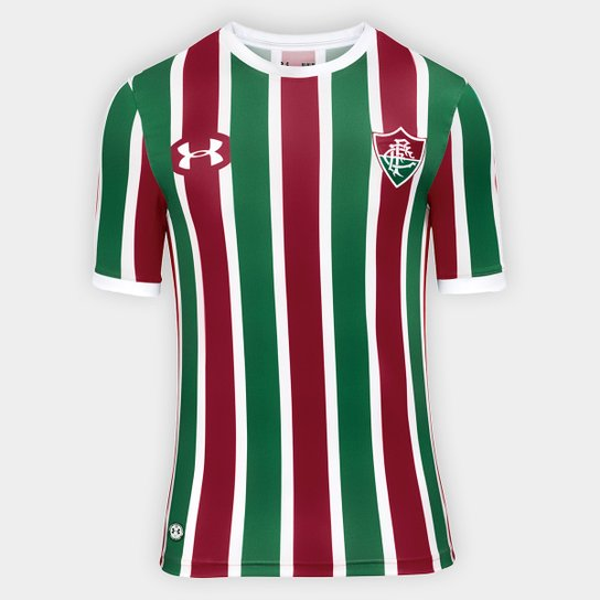 Camisa Fluminense I 17 18 s nº Torcedor Under Armour Masculina - Verde+ 975bfd1c9d322