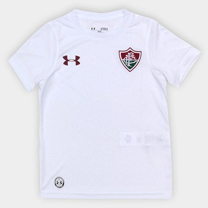 Camisa Fluminense Infantil FC Away Oficial 17/18  Torcedor Under Armour