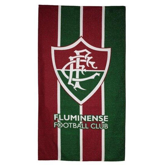 Toalha de Banho Fluminense Bouton Felpuda - Grená - Compre Agora ... e12065450ade4