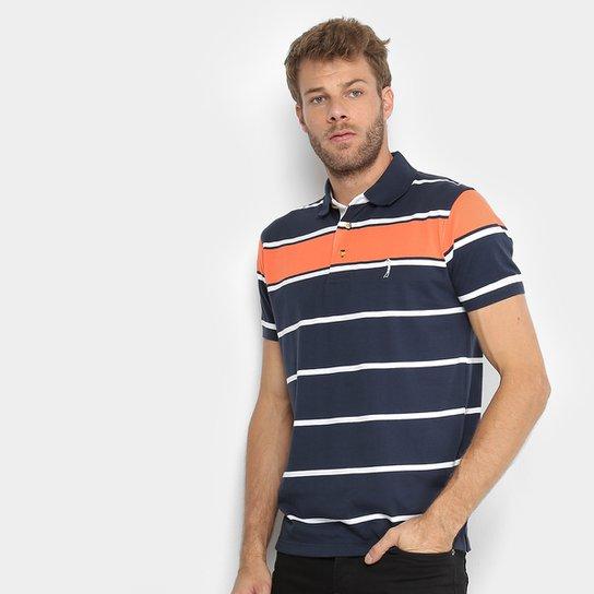9feb8c2c00 ... Camisa Polo Aleatory Listras Masculina - Compre Agora Netshoes  b43508476f9df8 ...