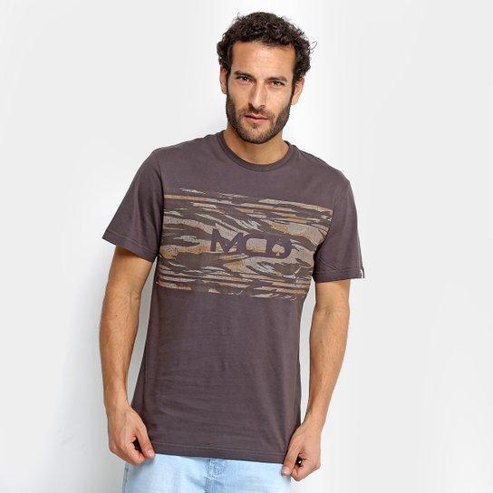 Camiseta MCD Camouflage Masculina - Marrom - Compre Agora  ae0ea526667