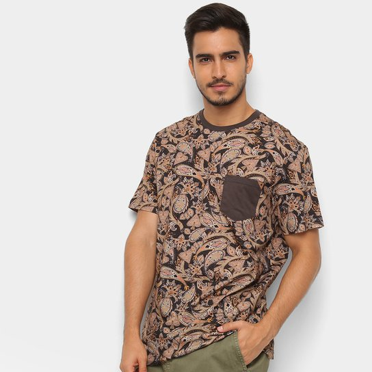 93f81ab67c81a Camiseta MCD Especial Full Pasley Masculina - Marrom Claro - Compre ...