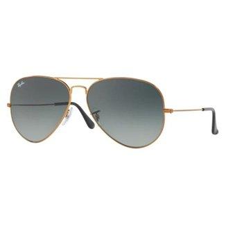 f0ab263e590ad Óculos de Sol Ray Ban Aviator Large Metal RBL