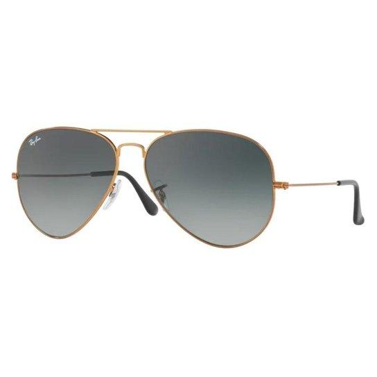 Óculos de Sol Ray Ban Aviator Large Metal RBL - Bronze - Compre ... 19bd7df340