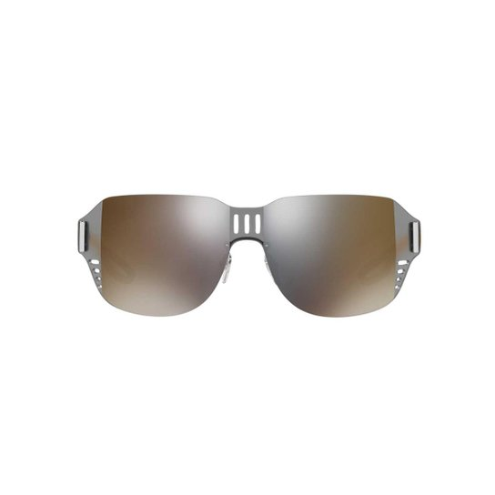 b374fc558 Óculos de Sol Prada Linea Rossa Irregular PS 05SS Masculino - Bronze ...