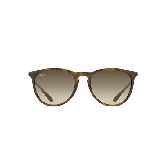 Óculos de Sol Ray Ban Erika - Marrom Claro - Compre Agora   Netshoes b1a9452c8a