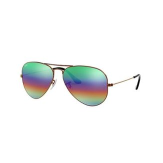 Óculos de Sol Ray-Ban RB3025 Aviator Large Metal