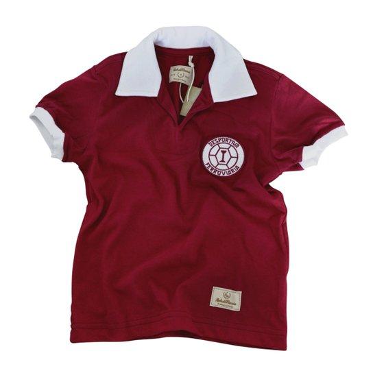 Camisa Retrô Mania Juvenil Desportiva Ferroviária 1965 - Grená ... 8b2b0ceab5