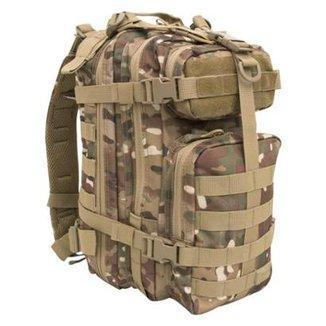 bd4858075 Mochila Tática Assault 30 Litros Camuflada Multicam Invictus
