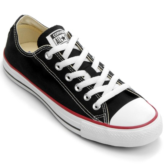 Tênis Converse ALL STAR CT AS Core OX - Preto e Branco - Compre ... 480a6e52da41d