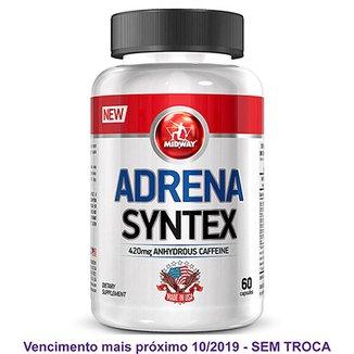 579e2a793 Adrena Syntex Termogênico à base de Cafeína USA 60 Caps