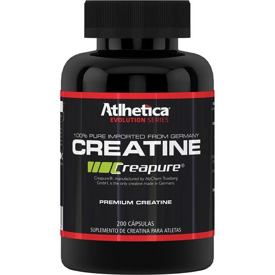 3a439b6c3 Creatine Creapure 200 Cáps - Atlhetica Nutrition - Compre Agora ...