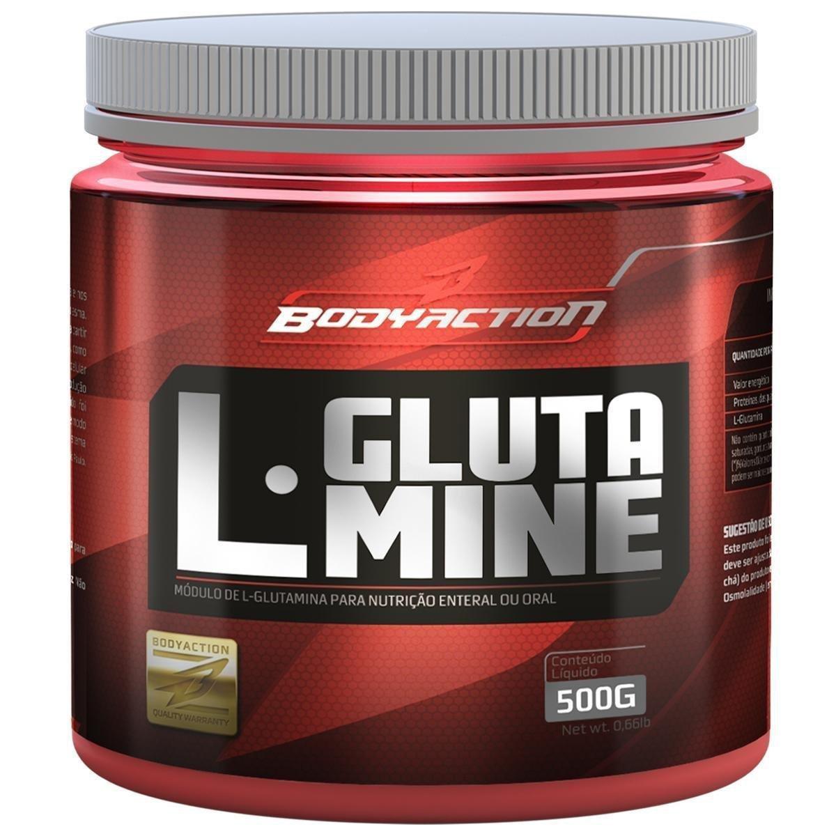 L-Glutamine 500 g - Body Action