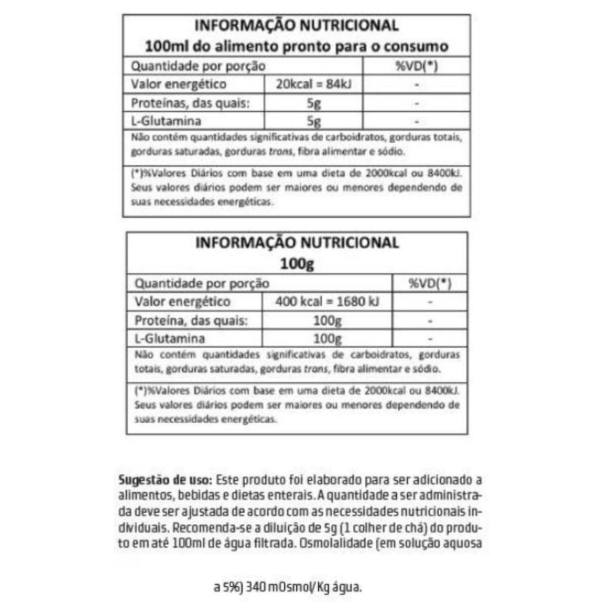 L-Glutamine 500 g - Body Action - 1
