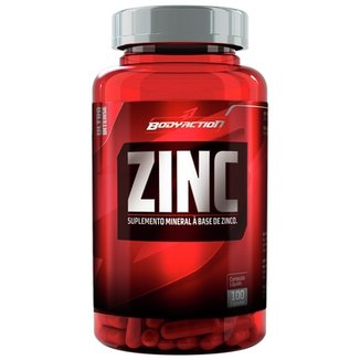 Zinc 100 Cáps - Body Action