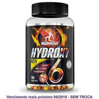 9ae084e3dd947 Hydroxy 6 USA Termogênico de liberação lenta à base de cafeína 90 Caps