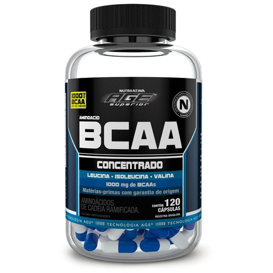 044d2ee83 Aminoacid BCAA Age 120 Cáps - Nutrilatina -