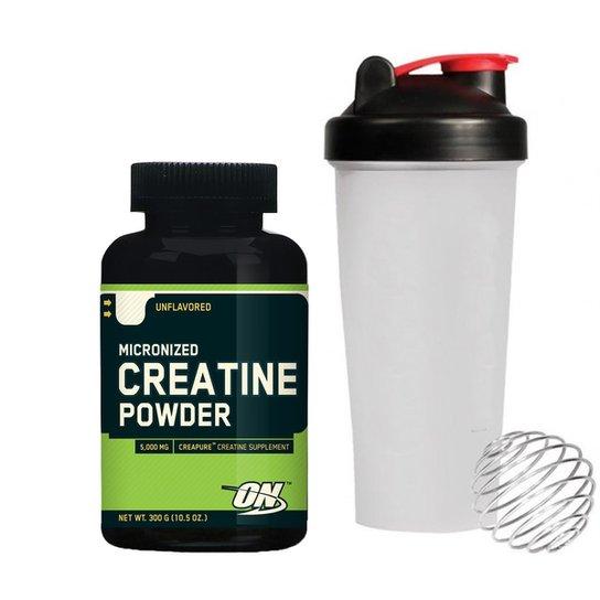 7da486be8 Creatina Creapure 300 g + Coqueteleira - Optimum Nutrition - Compre ...