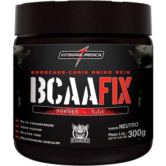 c695b646f BCAA FIX POWDER DARKNESS INTEGRALMÉDICA - Natural 300g - Compre ...
