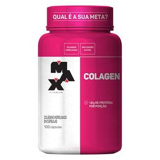 8c09af3f9 Colagen 500 100 cáps - Max Titanium