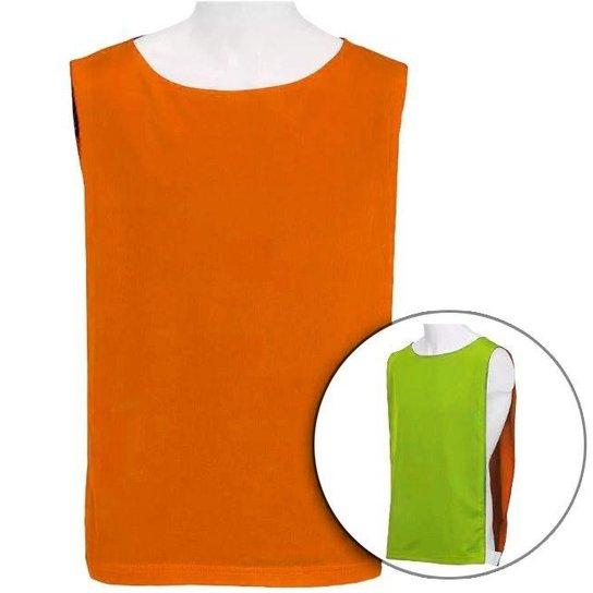 Colete Dupla Face - Kit 15 Peças - Verde Limão e Laranja - Compre ... a044329804f6d