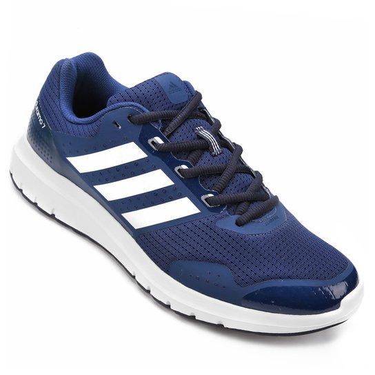 221d9ed8c8b Tênis Adidas Duramo 7 Masculino - Marinho+Branco