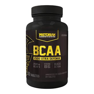 BCAA 2500 Guard 60 Tabs Exclusivo - Pretorian