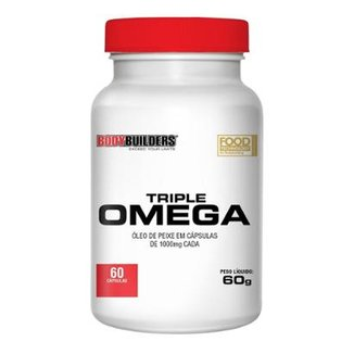 TRIPLE ÔMEGA - BODYBUILDERS 60 CAPS