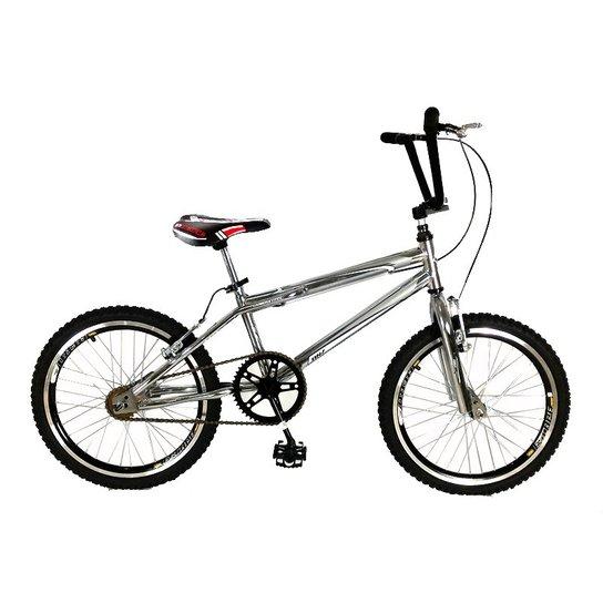 89652b7958f6f Bicicleta Dnz Bmx Cross Aro 20 Aero - Cromado   Netshoes