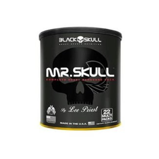 Pack Mr. Skull 22 Packs  Black Skull