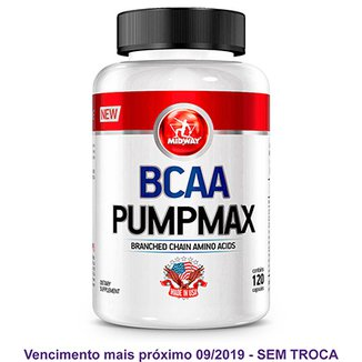 BCAA Pumpmax Midway 120 Caps