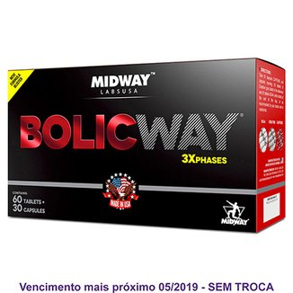 Bolic Way: suplemento à base de cafeína, BCAA e aminoácido para as 3 fases do anabolismo