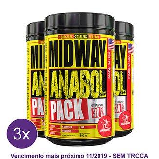 4f3d1b233 Kit 3x Anabol Pack Pré Treino completo com cafeína