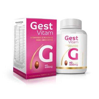 790825bedcfac Gest Vitam Ekobé Suplemento para Gestantes 60 Cápsulas