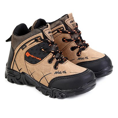 Bota Cano Curto Infantil Mini-Pé Adventure