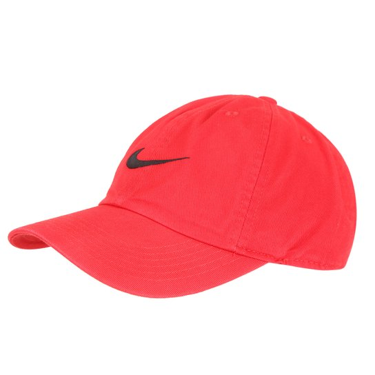 e683870383646 Boné Infantil Nike New Swoosh Heritage - Preto+Vermelho