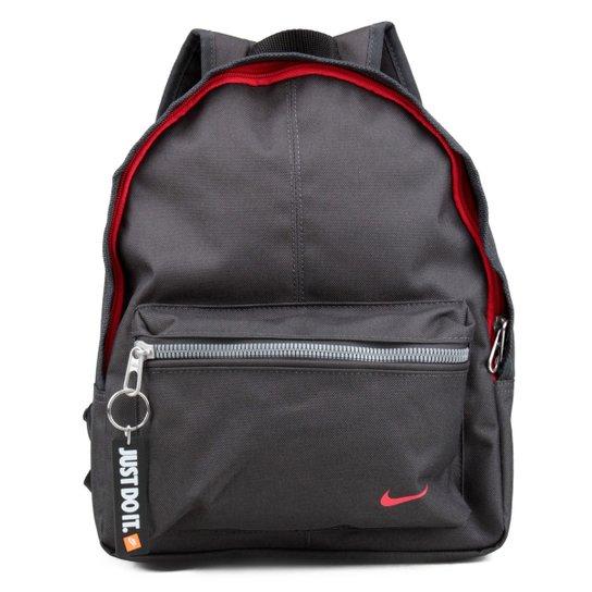 a7d7c1c75 Mochila Infantil Nike Classic Base - Preto+Vermelho