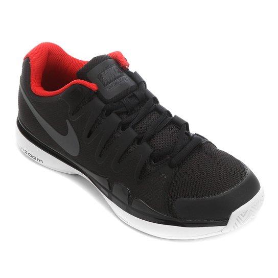 6094c889c449a Tênis Nike Zoom Vapor 9.5 Tour Masculino - Preto+Vermelho