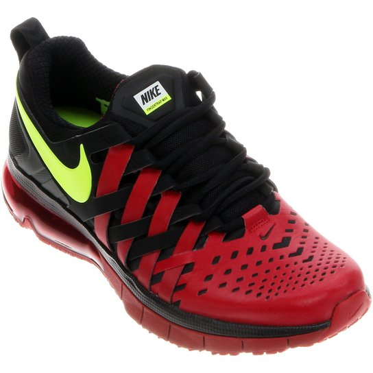 dedae73712 Tênis Nike Fingertrap Max Masculino - Preto+Vermelho