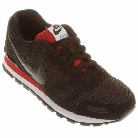 d33d15ece8e5e Tênis Nike Air Waffle Trainer - Preto+Vermelho